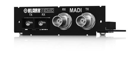 Klark Teknik KT-MADI  MADI Network Module with up to 64 Bidirectional Channels  KT-MADI