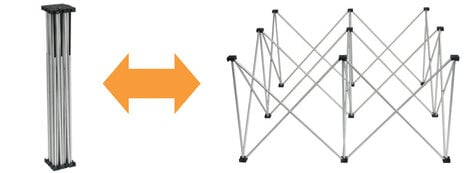 """Show Solutions Inc DD-482424R  24"""" Riser for Duro Deck Platforms DD-482424R"""