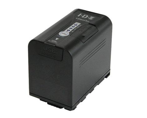 IDX Technology SL-VBD64  7.2V 6400mAh Li-Ion Battery for Panasonic Camcorders SL-VBD64