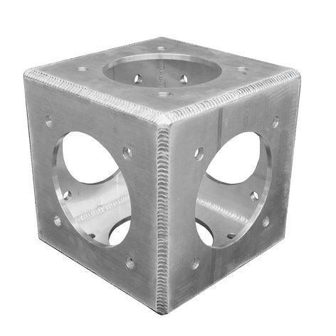 "Show Solutions Inc SP-PCB12126 SP Pro Series 6 Way Flushed 12"" x 12"" Box Truss Corner Block SP-PCB12126"