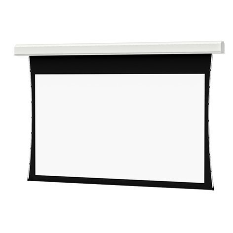 "Da-Lite 37036L  135"" x 240"" Tensioned Large Advantage Electrol Motorized Projection Screen 37036L"