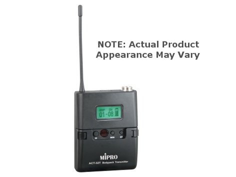 MIPRO ACT-32T Miniature Body Pack Wireless Transmitter ONLY, 6A Version with TA4F Connector ACT32T-6A