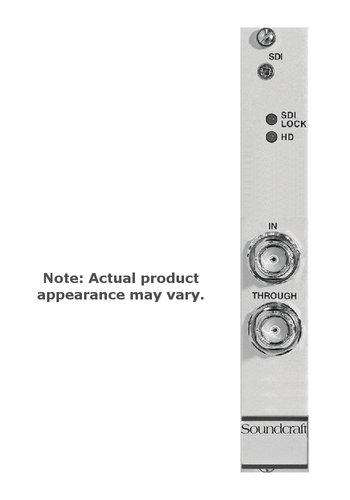 Soundcraft RS2552SP ViO/D21 3G/HD/SD SDi 8/16-Channel Audio De-embedder Card RS2552SP