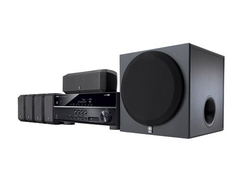 Yamaha YHT-3920UBL Home Theater in a Box with 5.1, 4K Passthrough YHT-3920UBL