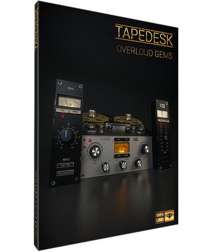 Overloud TAPEDESK Full Analog Mixing Workflow Plugin [DOWNLOAD] TAPEDESK
