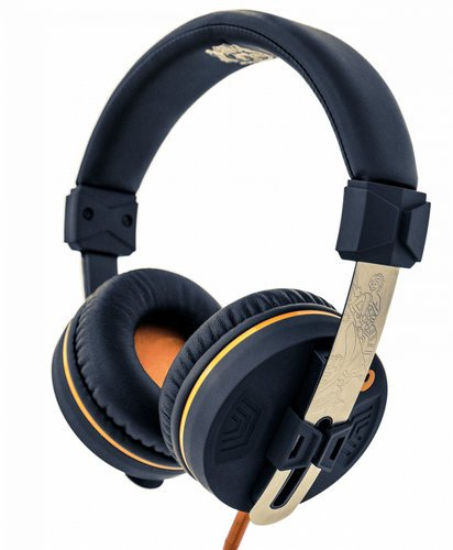 Orange Amplification 'O' Edition Headphones with 40mm Drivers, Compatible with Smart Phones O-EDITION