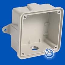 Atlas Sound SEN  Surface Outdoor Enclosure - Neutral for Voice / Tone™ Loudspeakers SEN