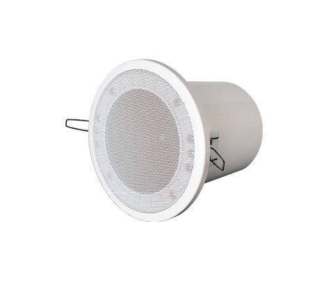 """Yorkville C160W  4"""" Pot Light Speaker 2.5/5/10W at 70V C160W"""