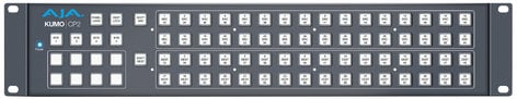 AJA KUMO-CP2 2RU Hardware Control Panel for KUMO Routers KUMO-CP2