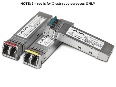 AJA Video Systems Inc FIBERLC-1Rx-MM Single Multi-Mode LC 3G Fiber Rx SFP FIBERLC-1Rx-MM
