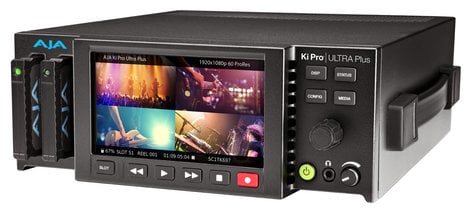 AJA Video Systems Inc Ki Pro Ultra Plus 4K/UHD and 2K/HD Recorder/Player with Multi-Channel Support KI-PRO-ULTRA-PLUS
