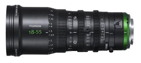 Fujinon Inc MK18-55mm T2.9 MK Series CINE Lens with Sony E-Mount MK18-55MM-T2.9