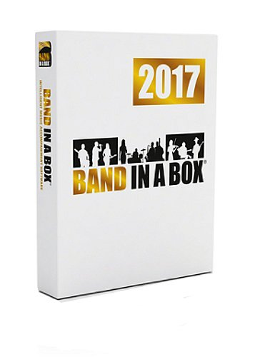 PG Music BBE70784 Band-in-a-Box 2017 Audiophile Edition Songwriting and Accompaniment Software with USB 3.0 Hard Drive BBE70784