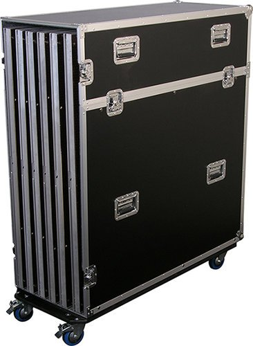 Show Solutions Inc DD-RCKIT6 Road Case with Wheels DD-RCKIT6