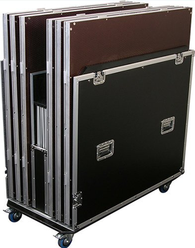 Show Solutions Inc DD-RCKIT6PRO Road Case with Wheels for Platforms and Risers DD-RCKIT6PRO