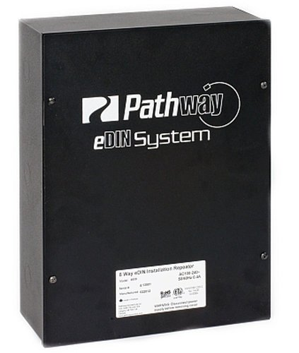 Pathway Connectivity P4807 eDIN DMX 4-way Installation Repeater P4807