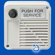 Atlas Sound WPVT-1SN  Outdoor Surface Mount Intercom Stations with Compression Driver and Call Switch 15W 8 ohms WPVT-1SN
