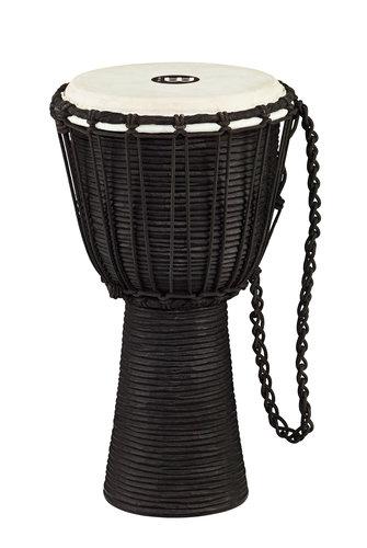 """Meinl Percussion HDJ3-S 8"""" Black River Series Rope Tuned Wood Djembe HDJ3-S"""