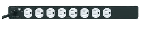 Middle Atlantic Products PWR-9-RP  9 Outlet Essex Rackmount Power Distributor with Surge Protection PWR-9-RP