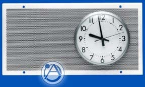"""Atlas Sound 840-89A Perforated Baffle for 8"""" Speaker and 8"""" or 9"""" Analog Clock 840-89A"""
