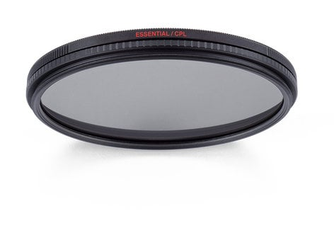 Manfrotto MFESSCPL-62 62mm Essential Circular Polarizing Filter MFESSCPL-62