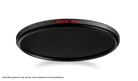 Manfrotto MFND500-82 82mm Circular ND500 Filter MFND500-82