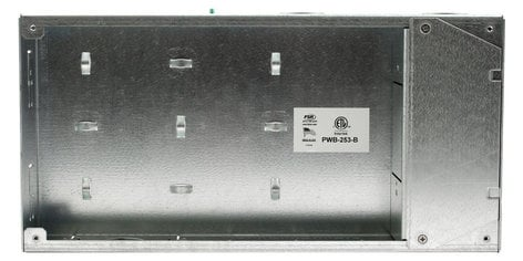 FSR, Inc PWB-253  Flat Panel Display Wall Box with Decora and Duplex Cover Plates PWB-253