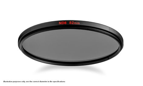 Manfrotto MFND8-82 82mm ND8 Filter MFND8-82