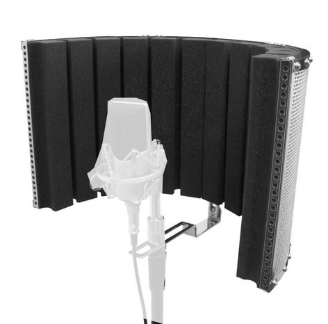 """On-Stage Stands ASMS4730  Microphone Isolation Shield, 18.5"""" x 12""""  ASMS4730"""