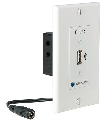Intelix Digitalinx DL-USB2-WP-C USB 2.0 Hi-Speed Twisted Pair Extender WP Client DL-USB2-WP-C