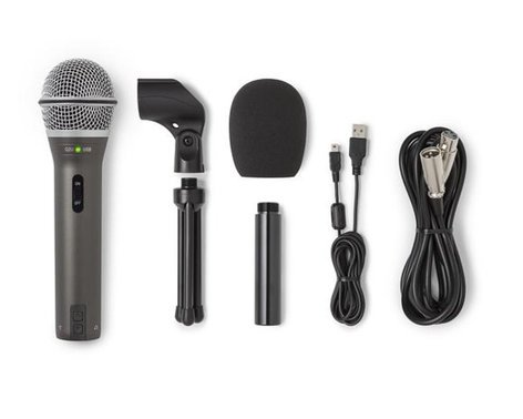 samson q2u recording package with usb xlr dynamic microphone and accessories full compass. Black Bedroom Furniture Sets. Home Design Ideas