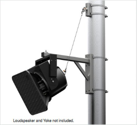 "Allen Products/Adaptive Technologies PM-24-6UP-G PoleStar Outdoor Galvanized UniFrame for 6"" Diameter Poles or Larger PM-24-6UP-G"
