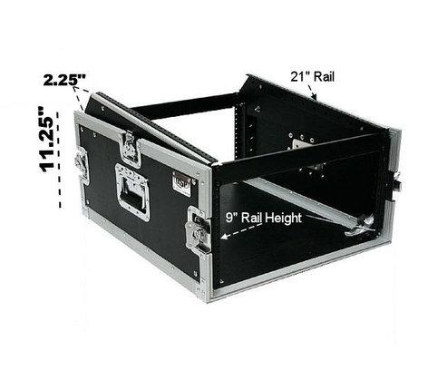 Elite Core Audio OSP MC12U-4 ATA 4RU Mixer/Amp Rack with Slant Top for 12 Space Mixer OSP-MC12U-4