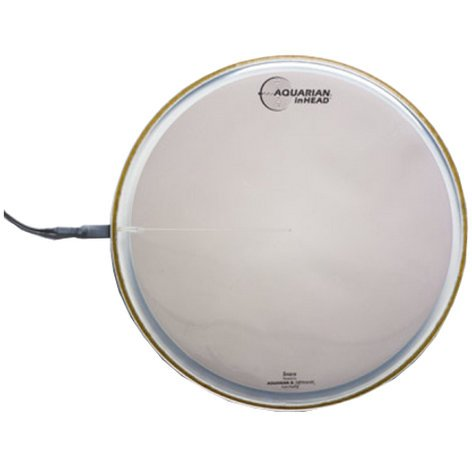 "Aquarian Drumheads INH13 13"" inHEAD Electro-Acoustic Hybrid Drum Trigger INH13"