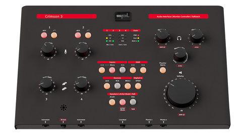 SPL CRIMSON-3 Crimson 3 USB Audio Interface and Monitor Controller CRIMSON-3