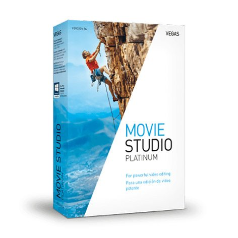 Magix VEGAS Movie Studio 14 Platinum [BOXED SOFTWARE] Video Editing Software for Windows MOVIE-ST-PLAT-14