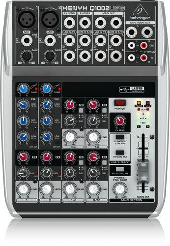 Behringer Q1002USB 10-Ch 2-Bus USB Mixer Q1002USB