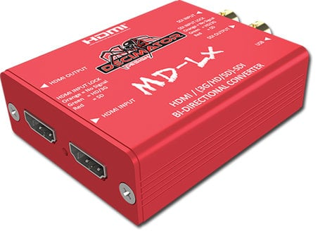 Decimator Design DEC-MD-LX  HDMI/SDI Bi-Directional Converter for 3G/HD/SD  DEC-MD-LX