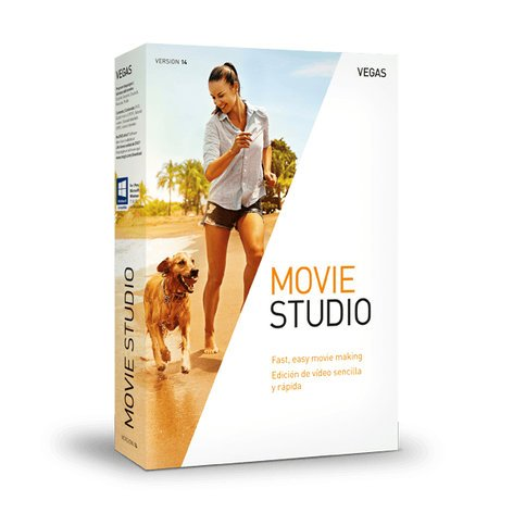 Magix VEGAS Movie Studio 14 [BOXED SOFTWARE] Video Editing Software for Windows MOVIE-STUDIO-14