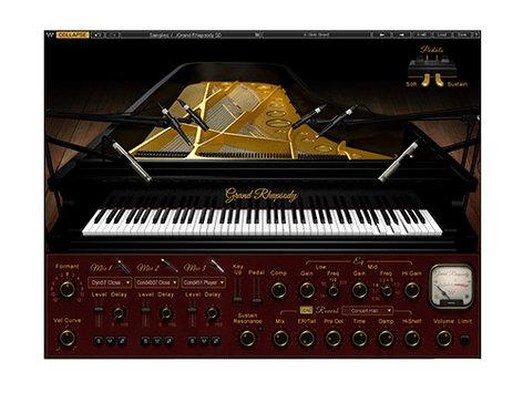 Waves Grand Rhapsody Piano Virtual Instrument Plugin ELGRNDRHPN