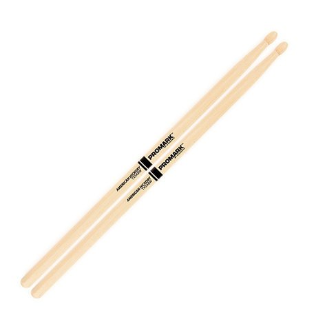 Pro-Mark TX5ABW 1 Pair of American Hickory 5AB Oval Wood Tip Drumsticks TX5ABW