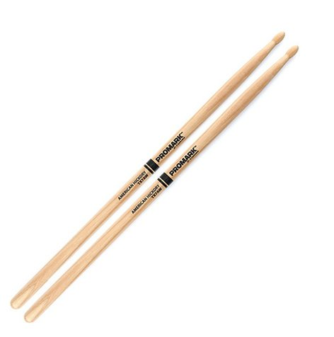 Pro-Mark TX7AW Hickory 7A Wood Tip Drum Sticks (PAIR) TX7AW