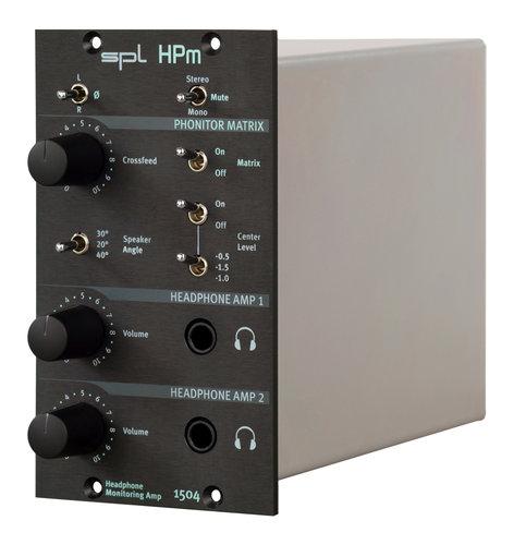 SPL Sound Performance Lab HPm Headphone Monitoring Amplifier 500 Series module HPM