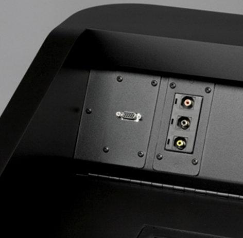 """Da-Lite 98282 Dash Panel 1/8"""" Mini Stereo Snap-In Connector 98282"""