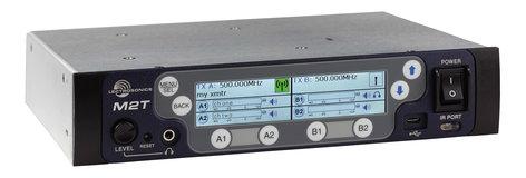 Lectrosonics M2T Duet System Wireless Monitor Stereo Transmitter M2T-LECTROSONICS