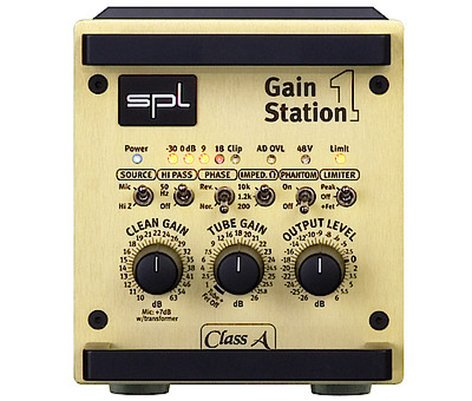 SPL Sound Performance Lab GainStation 1 Microphone and Instrument Preamplifier GAIN-STATION-1