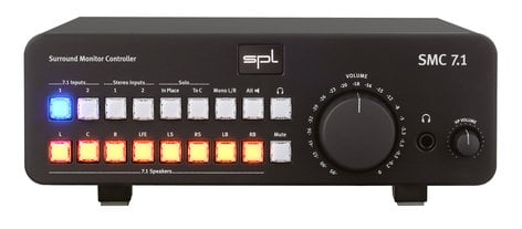SPL Sound Performance Lab SMC-7.1  7.1 Surround Monitor Controller  SMC-7.1