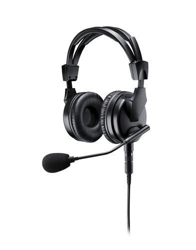 Shure BRH50M  Premium Dual-Sided Broadcast Headset. Includes BCASCA-NXLR3Q  BRH50M