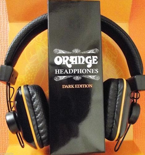Orange Amplification Orange Headphones - Dark Edition Headphones with 40mm Drivers DARK-EDITION