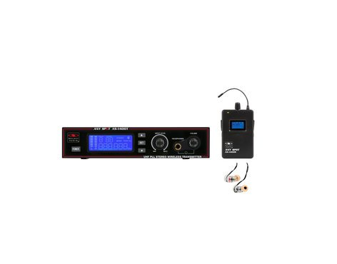 Galaxy Audio AS-1406M Single Wireless Personal Monitor System with EB6 Ear Buds AS-1406M